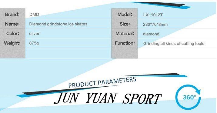Buy New design 2 surface Diamond knife sharpening stone ice skates knife sharpening stone 400#/1000# ,Free shipping cheap