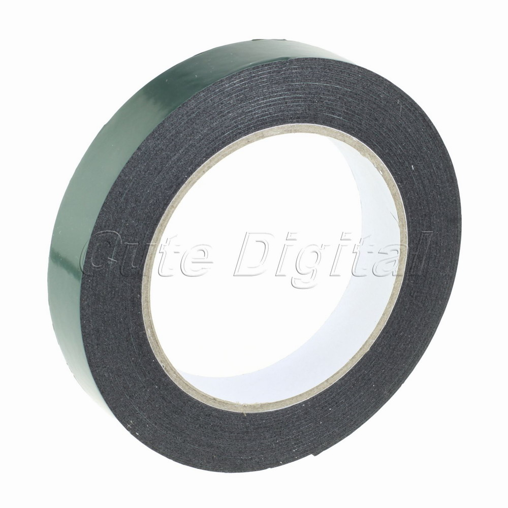 Гаджет  Free Shipping 20mm Double Faced Adhesive Foam Coated Mounting Tape Two Sides 5M None Офисные и Школьные принадлежности