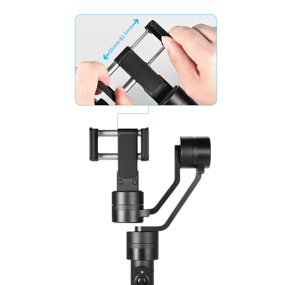 Zhiyun Smooth 2 II 3 Axis Brushless Handheld smartphone Gimbal Stabilizer for iPhone 6 plus PK Zhiyun Smooth C DHL EMS Free
