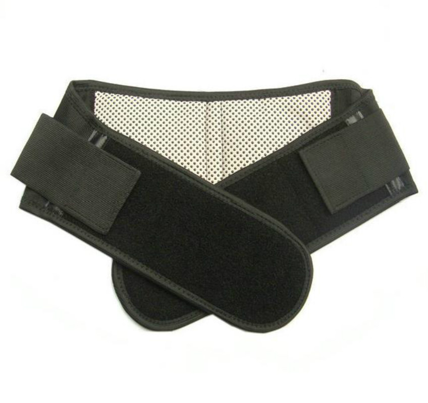 Infrared Magnetic Lower Pain Back Support Lumbar Brace Belt Double Pull Strap(China (Mainland))