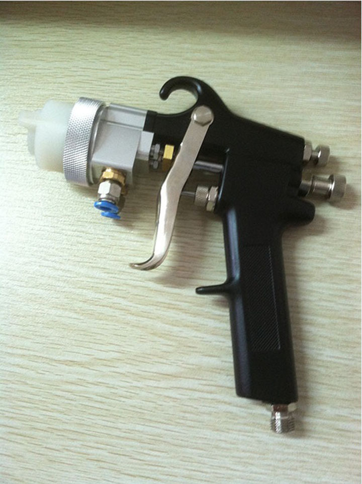 HVLP Mini Gravity HVLP Paint Spray Gun Air Spray Gun Pneumatic Gun Pistola Pintura Spray Pistola De Pintura SAT1182-4(China (Mainland))