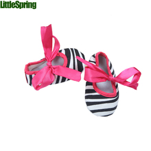 LittleSpring Retail In stock!!! Baby first walkers shoes baby fashion zebra lace shoes Children comfortable baby shoes(China (Mainland))