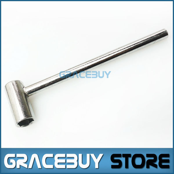 7mm Truss Rod Wrench Silver Metal Tool Adjustable For Jackson/ Ibanez PRS Electric Guitar New(China (Mainland))
