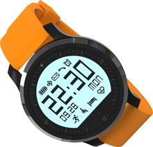 Fitness Smart Watch SW68 Sport Wristwatch Heart Rate Pulse Tracker Measure Aluminum Alloy Frame for Android iOS Smartphone