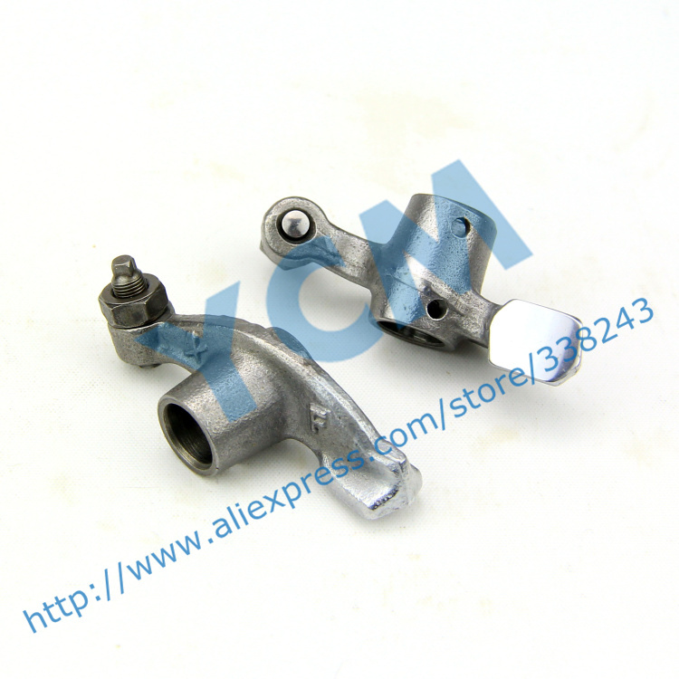 For 69mm Valve Rocker Arm GY6 50 80cc Scooter Engine Moped 1P39QMB 4 Stroke Parts Wholesale Scooter Parts YCM(China (Mainland))