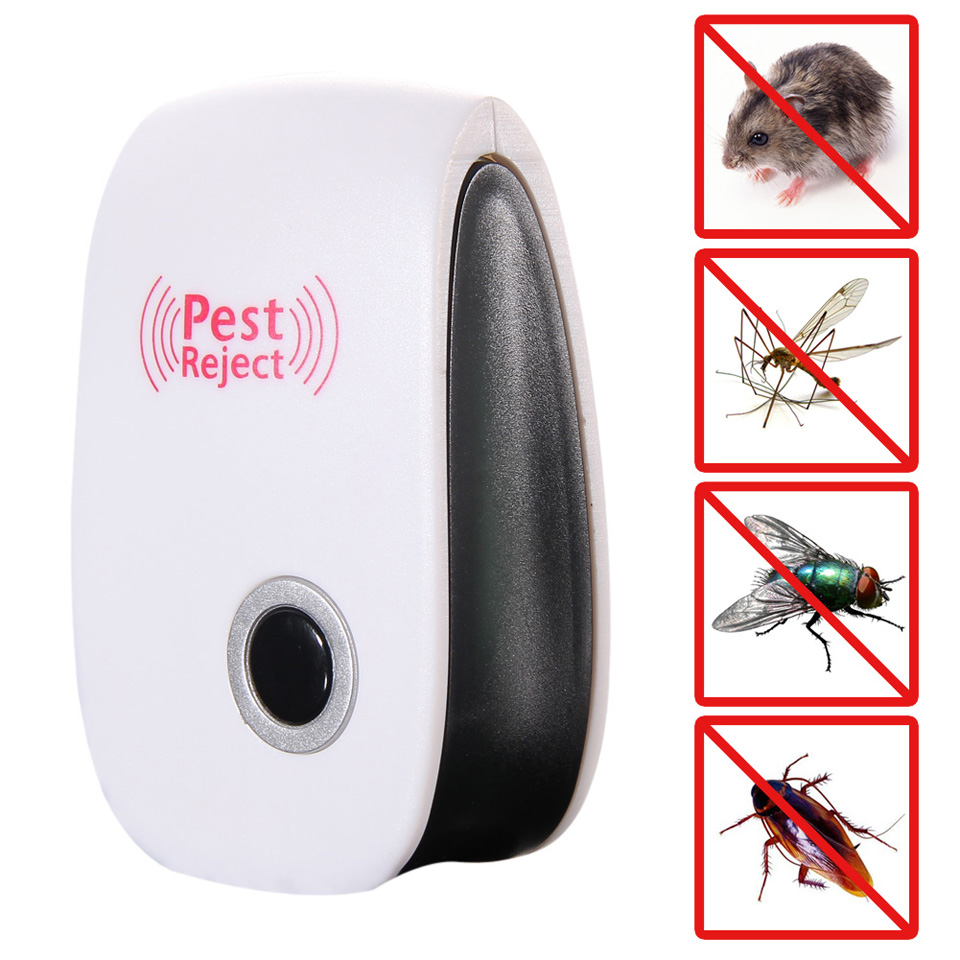 BEST 5W Electronic Ultrasonic Rat Mouse Repellent Anti Mosquito Repeller Kller Rodent Pest Bug Reject Mole Mice(China (Mainland))