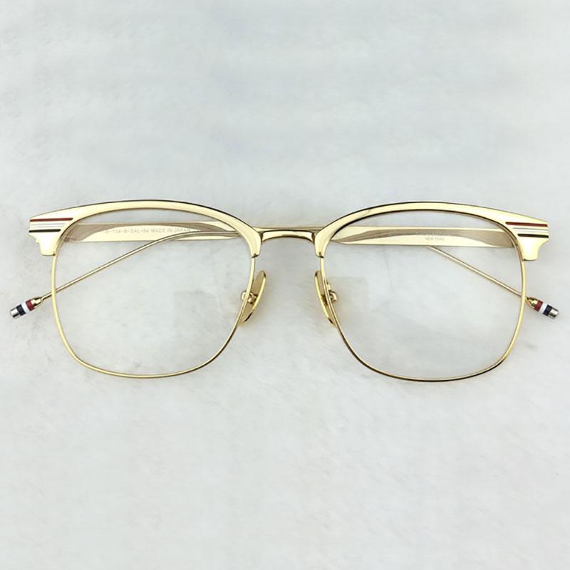Eyeglasses Frame Optical Alloy Metal Frame Eyewear Glasses Prescription Spectacles for Men and Women Fashion Eye Glasses(China (Mainland))