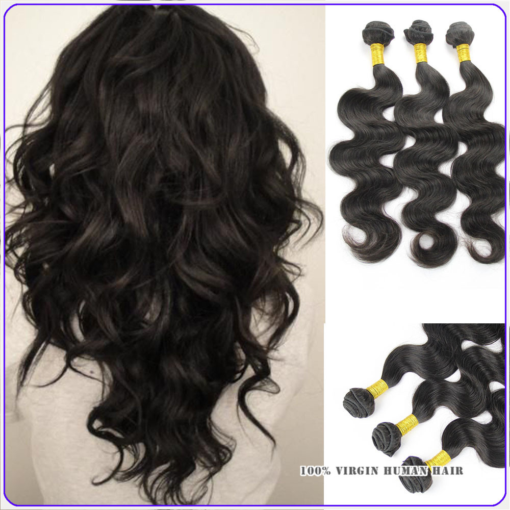 Indian Virgin Hair Body Wave Hair Bundles 8a Grade Virgin Unprocessed Human Hair Extensions Natural