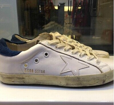 New Fashion GOLDEN GOOSE Low-tops Distressed Super Star casual shoes Genuine Leather Man Women Shoes
