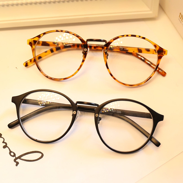 Round Frame Glasses Malaysia : DRESSUUP Cute Style Vintage Glasses Women Glasses Frame ...