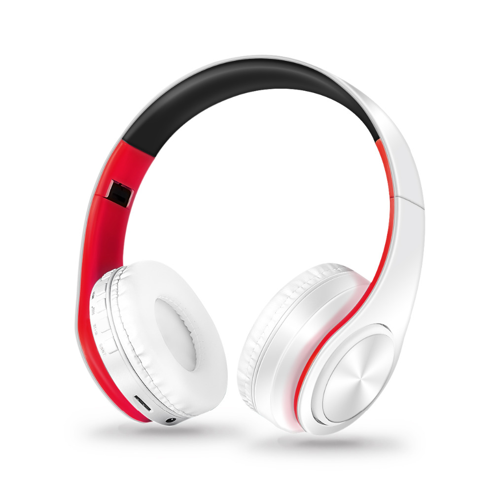 free shipping colorful wireless Bluetooth headphone stereo headset music headset over the earphone with mic for iphone sumsamg(China (Mainland))