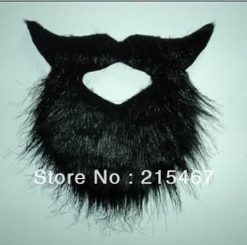 party toy for men Mustache Beard Biker WIZARD Old Man Costume Black colour
