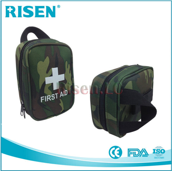 Free shipping portable military first aid kit/military survival kit,CE,FDA,ISO13485 Approved(33pcs contents)(China (Mainland))