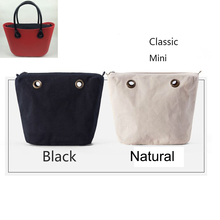 1 piece Inner lining Interior Zipper Pocket insert women's bags big classic Mini Obag AMbag O lady bag - small cute store