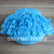 New Arrival 2015 8 Colors Baby Girls Cotton Ruffles Bloomer Kids Lace Bloomer Girl's Toddler Ruffle Shorts/ruffle Briefs Pants(China (Mainland))