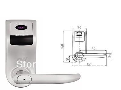 Keyless Alloy RFID Access Control Door Lock KO-FPS300(China (Mainland))