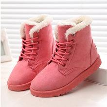 Frauen Stiefel Winter Schuhe Frau Super Warm Schnee Stiefel Frauen Knöchel Stiefel Für Weibliche Winter Schuhe Botas Mujer Plüsch Booties(China)