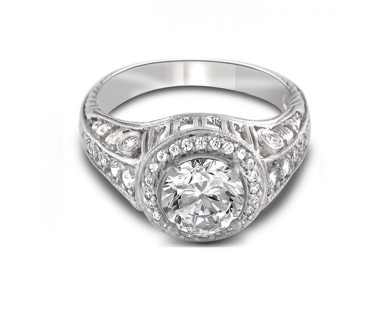 Popular 14k White Gold Engagement Rings Buy Cheap 14k White Gold Engagement R