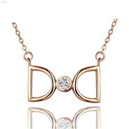 double-D-necklace-ROSE-gold-pendant-necklace