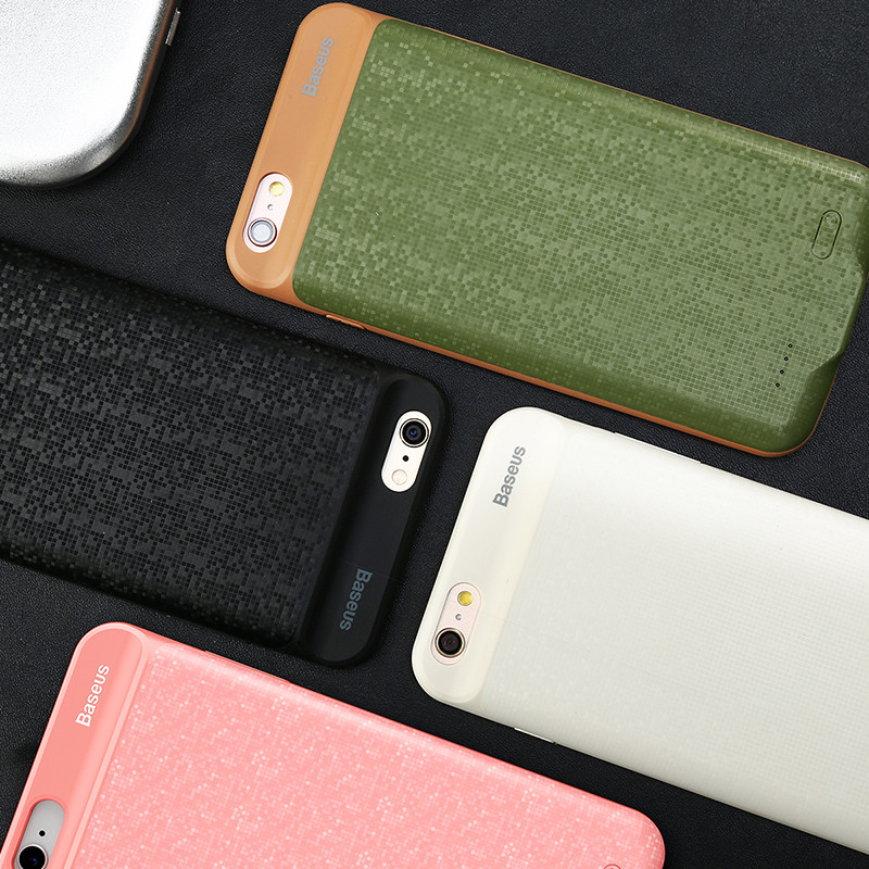 Baseus Charger Case For iPhone 6 6s Plus 2500/3650mAh Power Bank Case Ultra Slim External Pack Backup Battery Case Cover(China (Mainland))