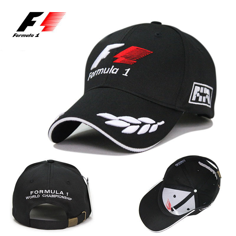 mercedes formula 1 baseball cap caps cheap racing black style embroidered hats men panel