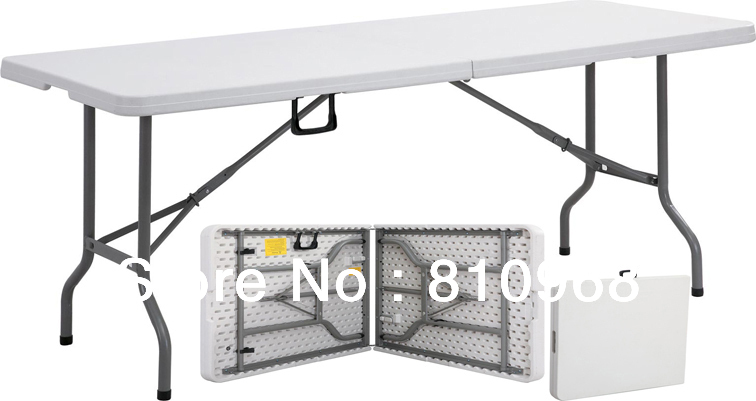 6ft Trade Show Table, High Quality Table for fair, Exhibition Table (can be folded in half)(China (Mainland))