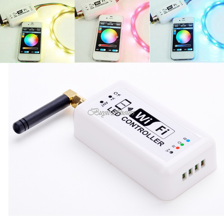 2014 New Original Wifi RGB LED Controller,For Iphone For