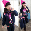 Girls Clothing Set Sports Coat Kids Clothes Autumn Girls Costume Sport Suits Toddler Clothing Set ( Cartoon Dog T-shirt + Pants)