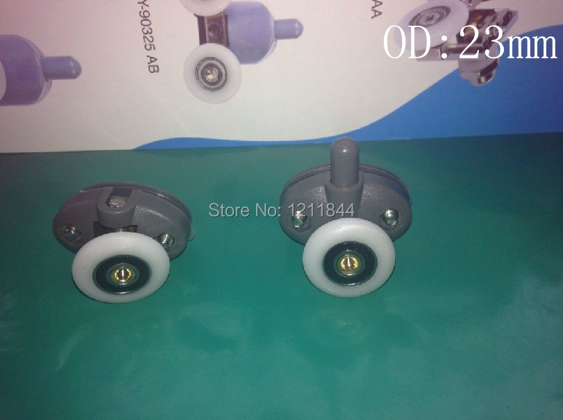OD:25MM Shower pulley accessories old roller door crane wheel Double holes pulley <br><br>Aliexpress