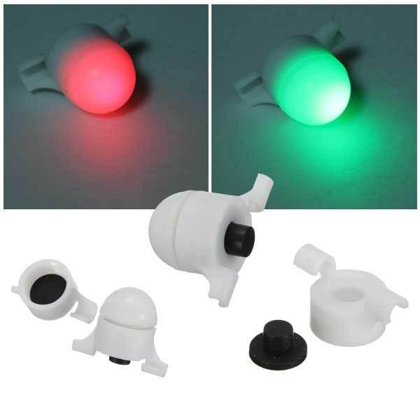 Gardendale Fishing LED Rod Tip Night Light Strike Alert Glow Stick Bite Alarm(China (Mainland))
