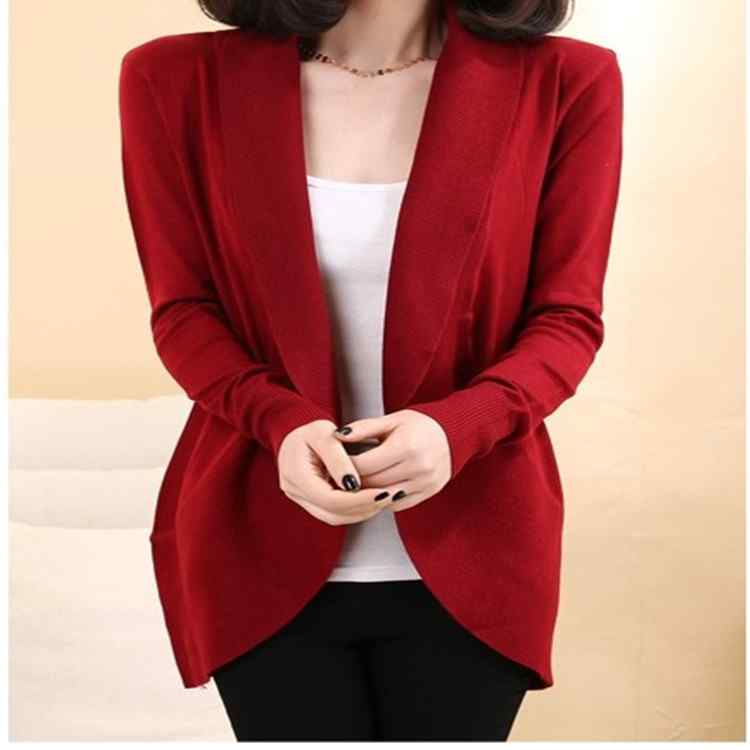 2014autumn in new long Cape coat Cardigan Sweater women(China (Mainland))