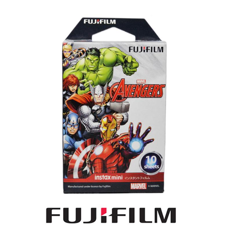 Fujifilm Instax Mini Avengers Instant 10 Films Paper Photo For Mini 90 8 7s 25 50s 300 Instant Camera SP-1(Hong Kong)