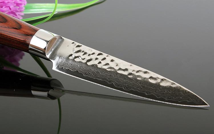 aliexpress com buy sharp 3 5 quot damascus kitchen knife