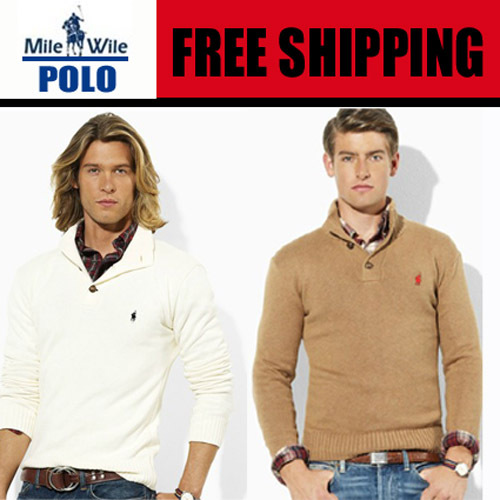 free shipping 2015 new casual men's casual long-sleeved sweater men sweater winter sweater pullover Men's Polo brand sweater
