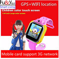 Q730 Children Wristwatch For IOS Android With Camera GSM GPRS WI FI GPS Locator Tracker Anti