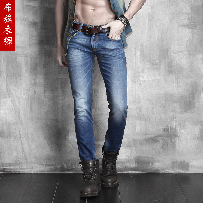 Hot Selling Top Designer Famous Brand Upscale Cotton Men Jeans Pants European And American