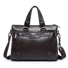2016 New Fashion pu Leather Bags for Men famous brand Men's Shoulder Bag Messenger Bag briefcase for laptop