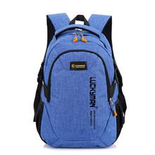 Sacs d'école garçons et filles sacs à dos scolaires sac à dos sac à dos pour hommes femmes travail sac à dos de voyage pour ordinateur portable Mochila(China)
