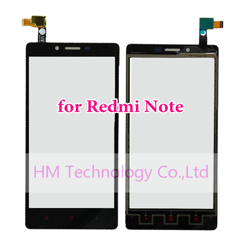 Black TP Xiaomi Redmi Note 5.5 inch Touch Screen Digitizer Red Rice Glass Panel LCD Replacement +Tools - HM Technology Co.,Ltd store