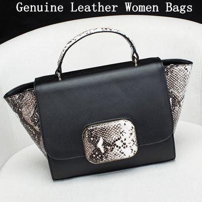 New Arrive Women Genuine Leather Bag High Quality Womens Messenger Bags hot Sale Handbags Shoulder Bag<br><br>Aliexpress
