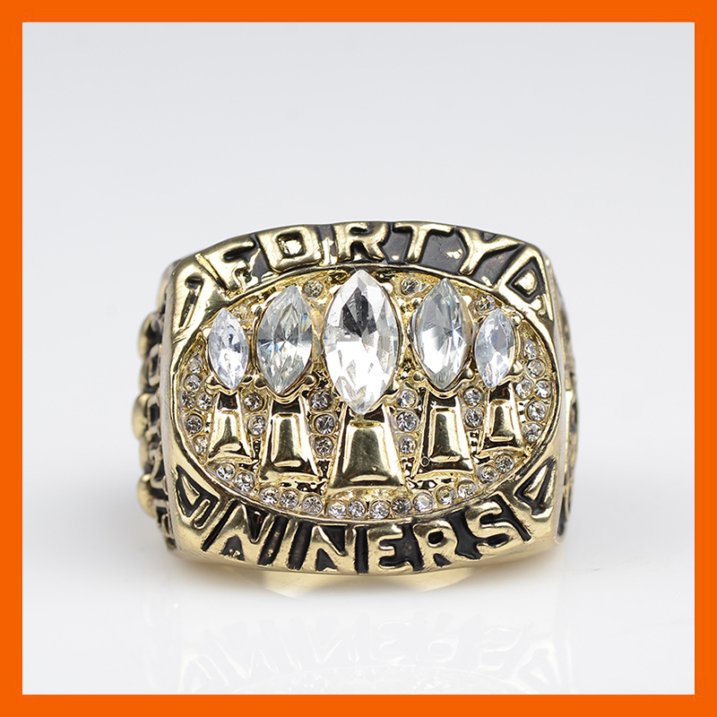 Bottom Price for Replica Super Bowl 1994 San Francisco 49ers Championship Ring for Fans(China (Mainland))