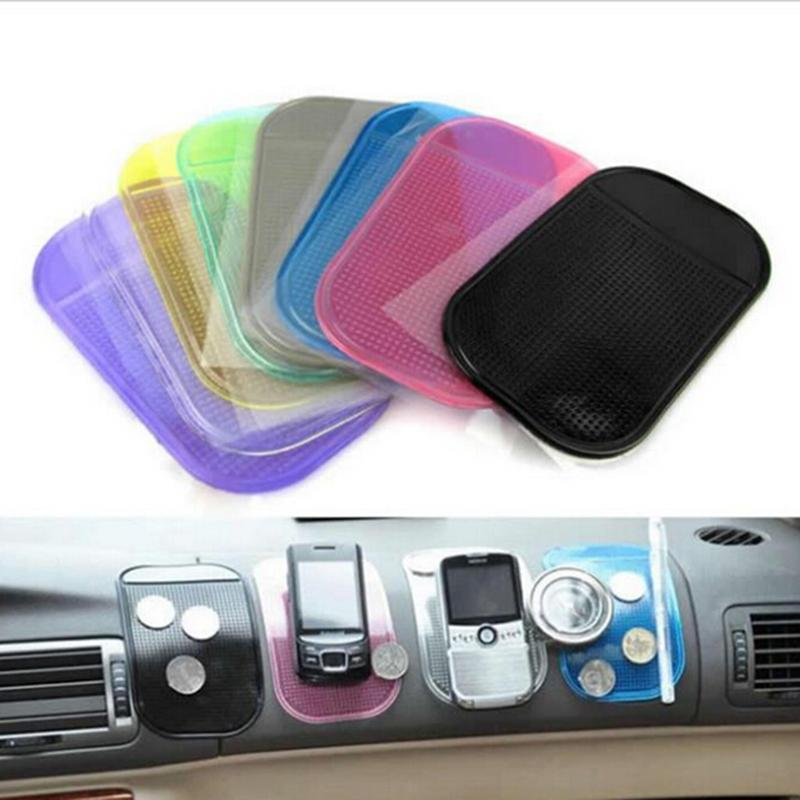 1PCS 7 color Automobiles Interior Accessories for Mobile Phone mp3mp4 Pad GPS Anti Slip Car Sticky Anti-Slip Mat Work as Charm()