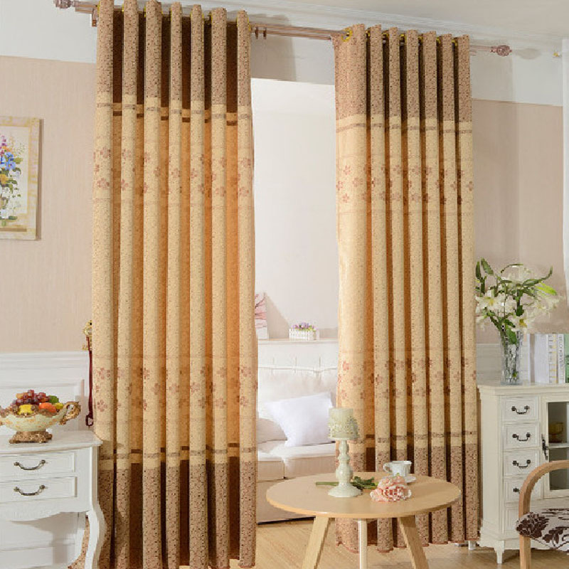 Curtains for bedroom roman blinds cortina blackout cloth for Simple curtain styles