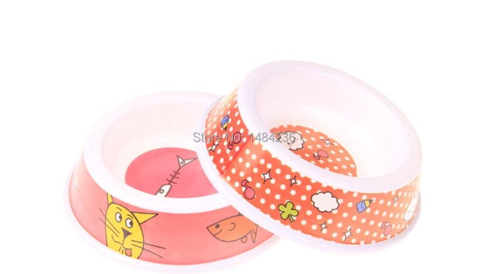 Free Shipping!!! Pet Supplies Travel Dog Cat Food Water Bowls Feeding Dish NON-Skid Practical dog bowl Pet Feeding Watering Bowl(China (Mainland))
