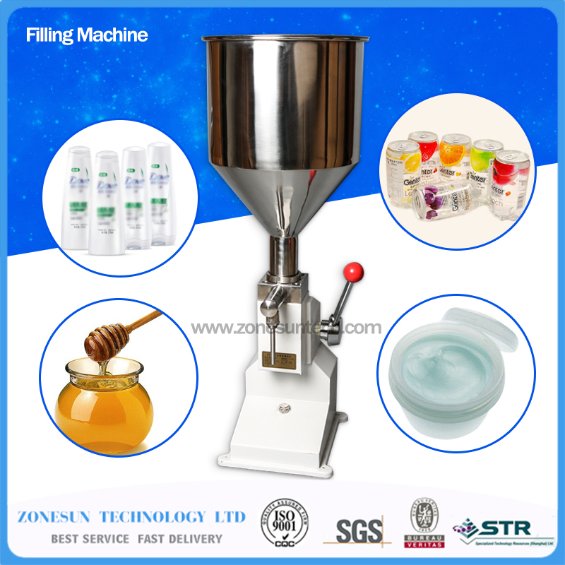 Manual paste filling machine liquid filling machine cream filling machine Sauce Jam nial polish filling machine 0 - 50ml(China (Mainland))