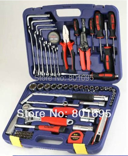 free shipping 85 PCS Car Repair tool set Portable ...