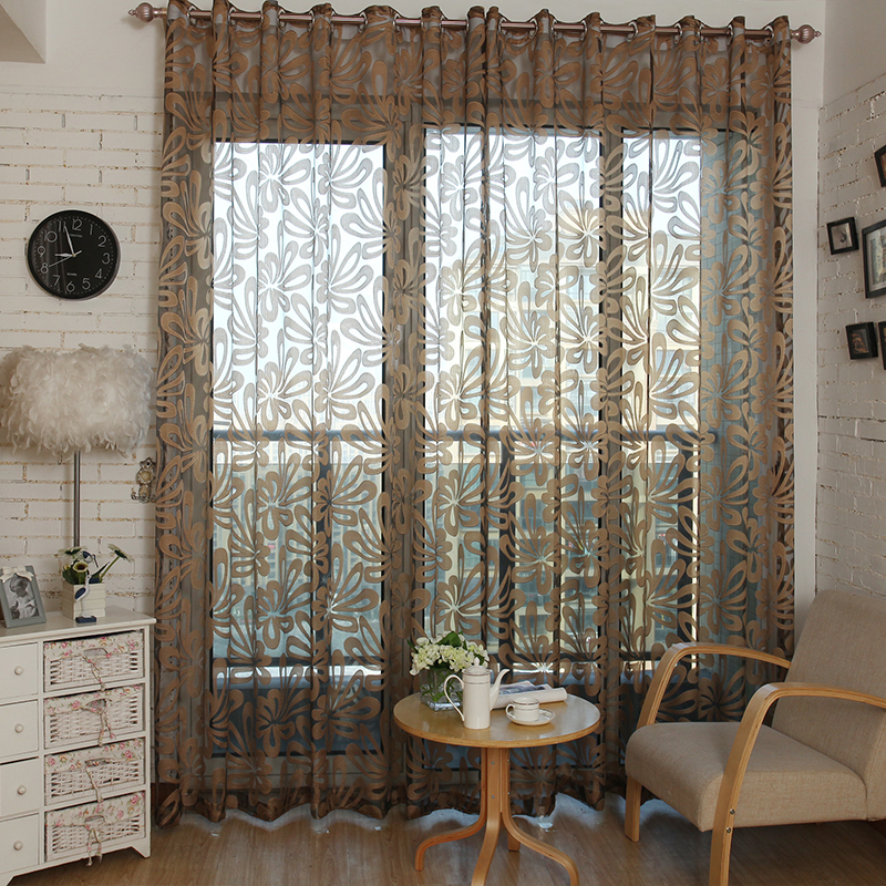 Curtains For Living Room The Bedroom Kitchen Blinds Voile Curtain