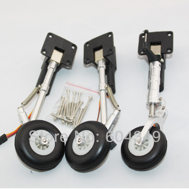 FREEWING ELECTRONIC METAL RETRACTABLE LANDING GEAR SET- EDF JET FOR Eurofighter(China (Mainland))