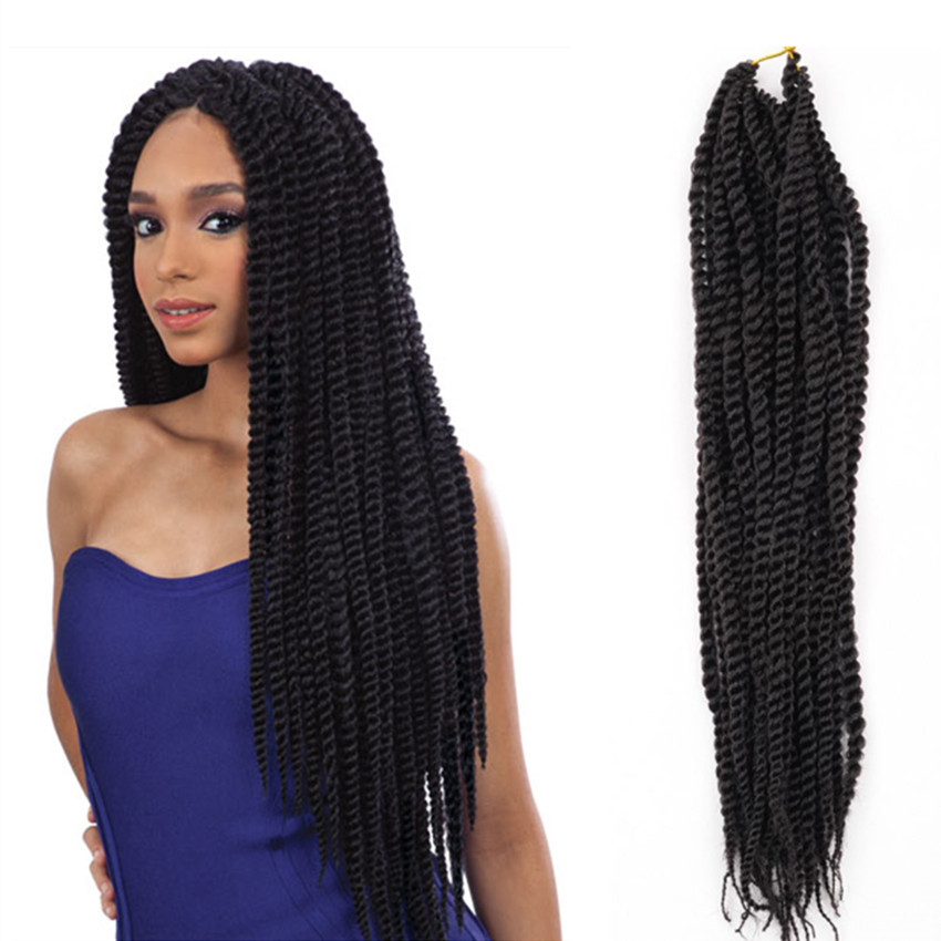 Crochet Hair With Loop : Aliexpress.com : Buy Crochet Braid Loop Pre twist braiding senegalese ...