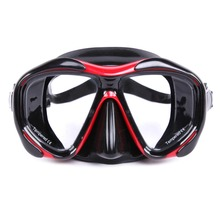 WHALE Brand High Quality Adult Scuba Diving Mask Professional diving glasses Swimming Goggles with Toughened  Glass Equipment (China (Mainland))